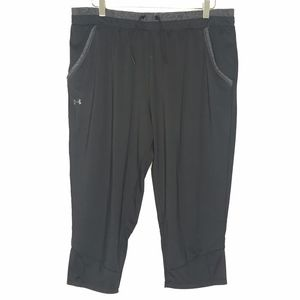 Under Armour HeatGear Black Cropped Pants A130590
